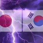 한국 일본 한일 국기